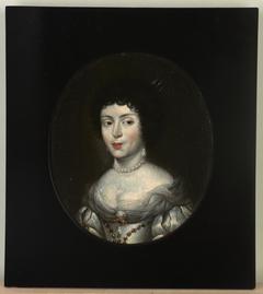 Portret Marii Kazimiery de la Grange d'Arquien Sobieskiej, zwanej Marysieńką (1641-1716), królowej Polski, żony Jana III Sobieskiego