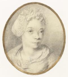 Portret van Anna de Hooghe