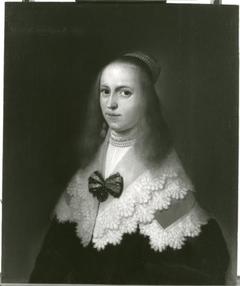 Portret van Clara van Andree