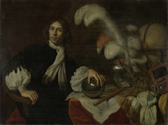 Posthumus Portrait of Augustus Stellingwerff, Admiral of the Friesland Admiralty, Killed by a Cannonball at the Battle of Lowestoft in 1665