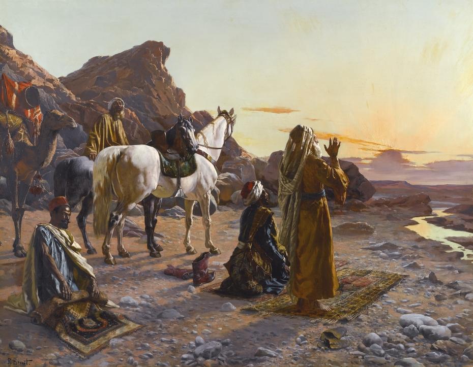 Prayers at Sunrise