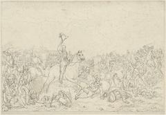 Prins van Oranje bij Quatre Bras, 16 juni 1815