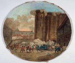 Prise de la Bastille, le 14 juillet 1789 (P707-1)