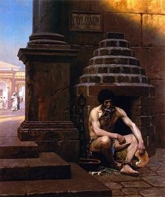 Prisonnier de guerre à Rome