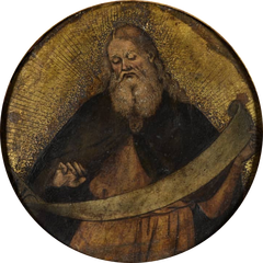 Prophet holding a Scroll