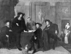Regents of the Leper's house in Amsterdam