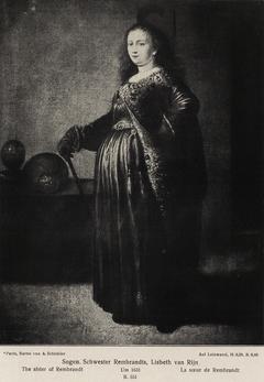 Rembrandt's Sister in Oriental Dress