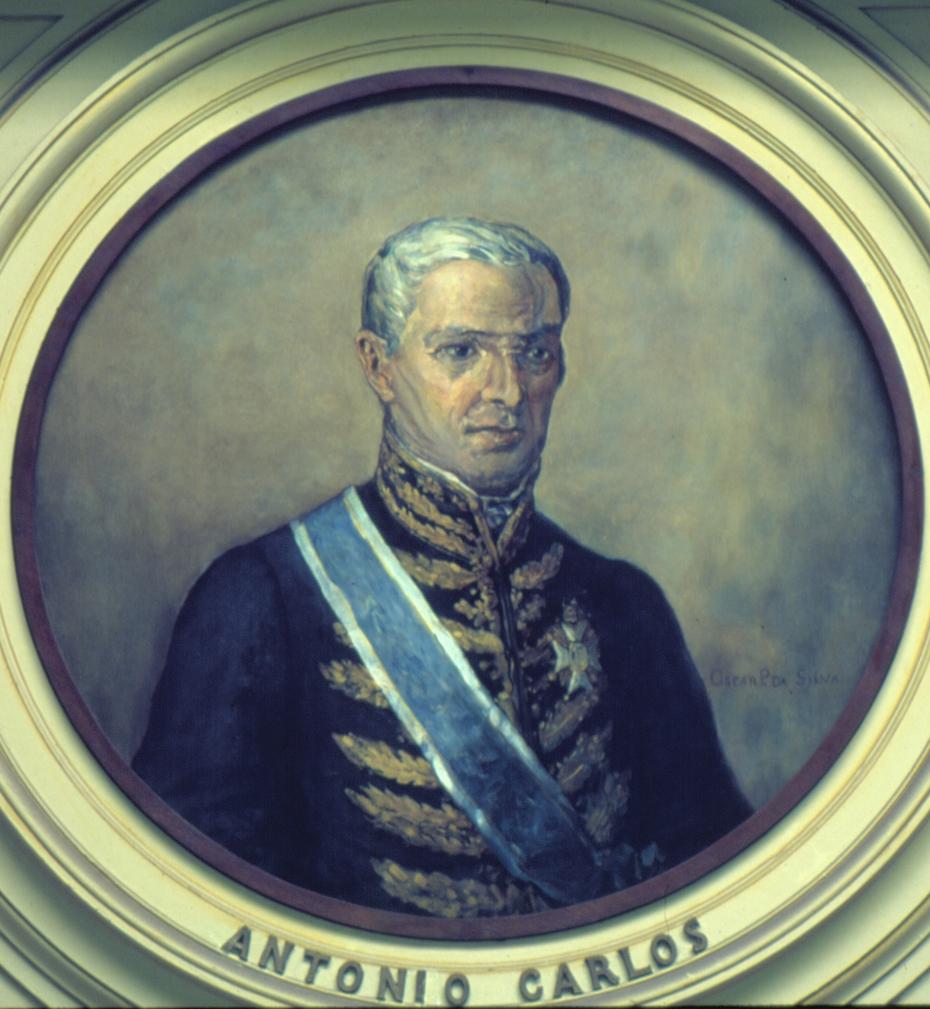 Retrato de Antonio Carlos Ribeiro de Andrada