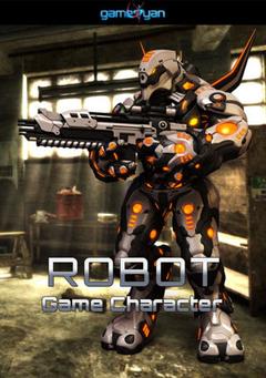 3D High Poly Robot Game Character Modeling Virginia, USA