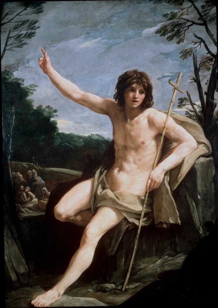 Saint John the Baptist in the Wilderne