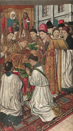 Saint Vincent Ordained by Saint Valerius