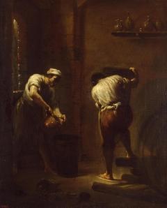Scene in the Cellar