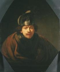 Self-portrait with Helmet