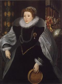 Sieve Portrait of Queen Elizabeth I