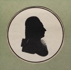 Silhouette of Marcello Bacciarelli.