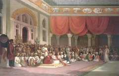 Sir Charles Warre Malet, Concluding a Treaty in 1790 in Durbar with the Peshwa of the Maratha Empire
