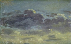 Sky study with mauve clouds