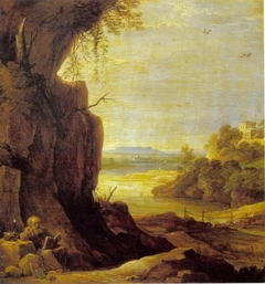 Southern Landscape with St Anthony the Hermit