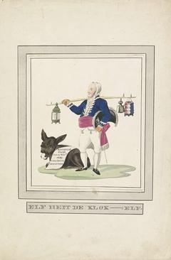 Spotprent op Talleyrand, 1813