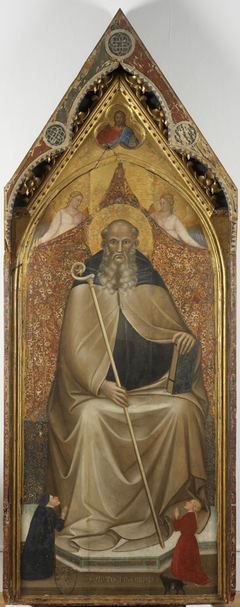 St. Anthony Abbot Enthroned