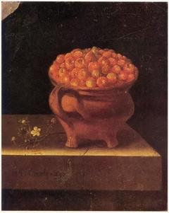 Strawberries in a Stone Jar