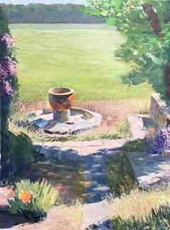 sun in the garden