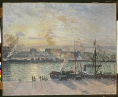 Sunset, Port of Rouen (Steamboats)