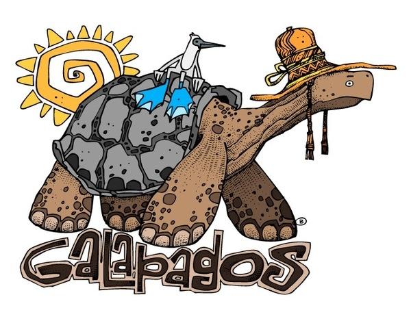 TEES DESIGN (series) - Galapagos