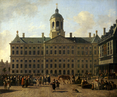 The Amsterdam City Hall on Dam Square