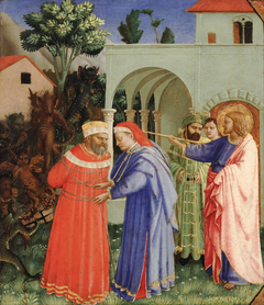 The Apostle Saint James the Greater Freeing the Magician Hermogenes