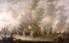 The Battle of Scheveningen, 31 July 1653