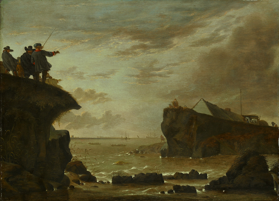 The Breach of the Sint Anthonisdijk in 1651