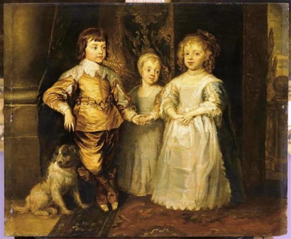 The Children of Charles I of England
