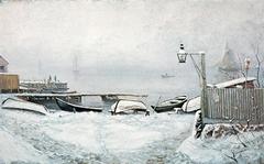 The Coast at Drøbak in December
