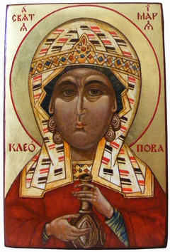 The image of St. Mary of Cleopas