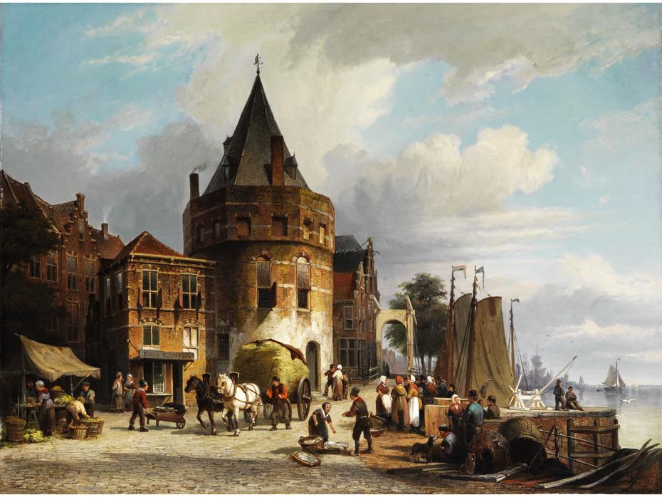 The Schreierstoren in Amsterdam