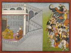 The Siege of Mathura by Jarasandha