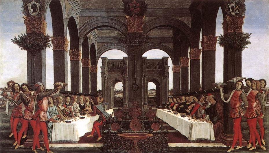 The Story of Nastagio Degli Onesti, part four