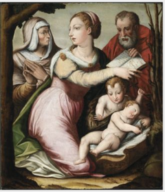 The Virgin and Child with Saints Elizabeth and John the Baptist