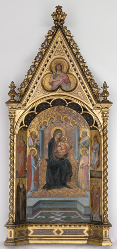 The Virgin Enthroned with Saints and Angels