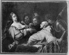 Tomyris mit dem Haupt des Cyrus (Kopie nach)