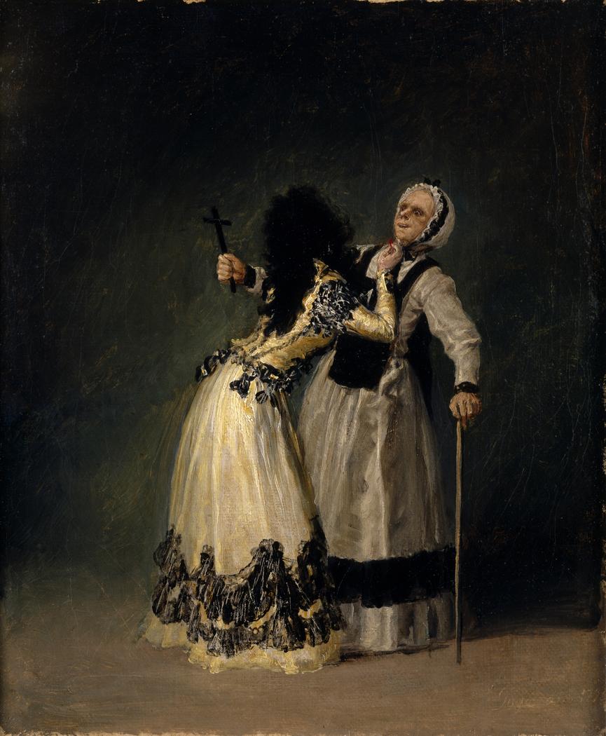 The Duchess of Alba and La Beata