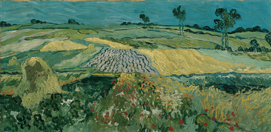 The Plain of Auvers / Wheat Fields near Auvers