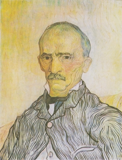 Portrait of the superintendent Trabuc in the Hospital Saint-Paul