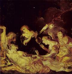 Venus Mourning over Adonis