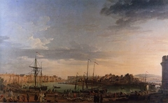 View of Dieppe Harbour