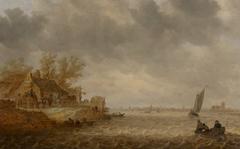 View of Dordrecht from Papendrecht