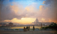 View of Rome from the Pincio