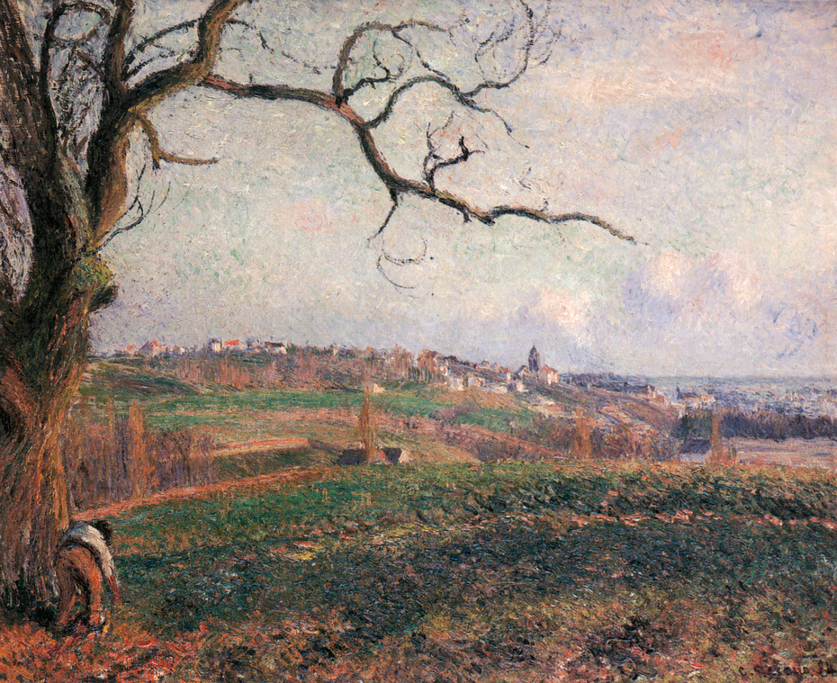 View of the Town of Pontoise