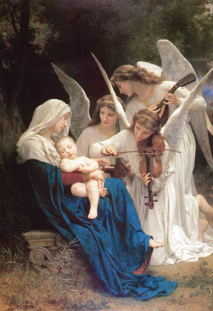 Virgin with Angels